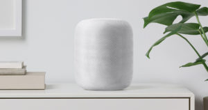 apple homepod with siri